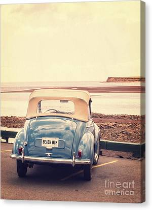 Beach Bum Canvas Print by Edward Fielding