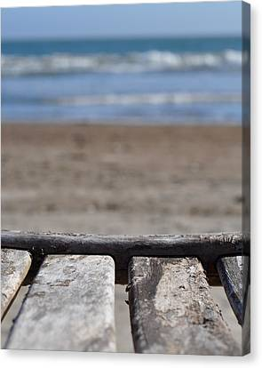 Beach Chair Canvas Print