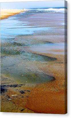 Beach Colors Canvas Print
