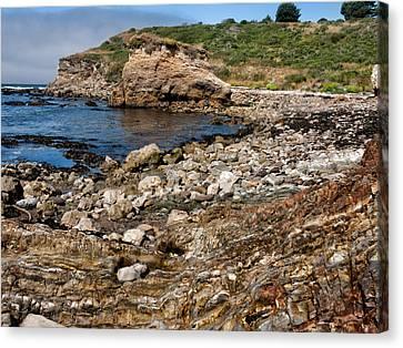 Kathleen Canvas Print - Beach Geology by Kathleen Bishop