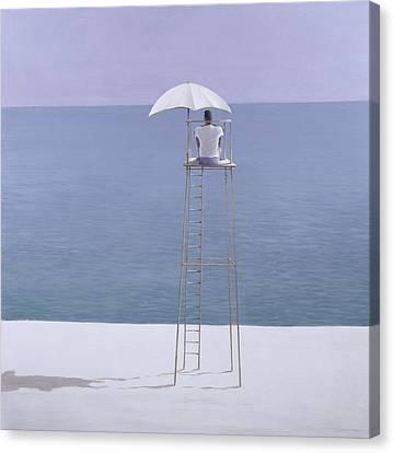 Beach Guard Canvas Print