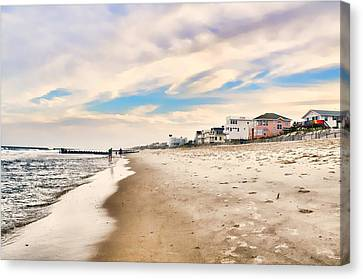 Beach Haven Canvas Print by Diana Angstadt
