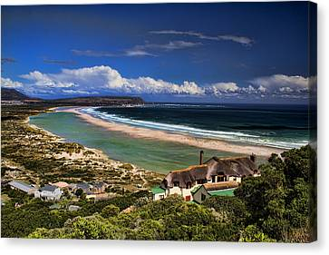 Beach In Noordhoek South Africa  Canvas Print by David Smith
