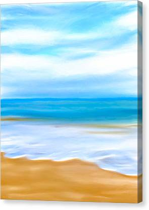 Beach Memories Canvas Print