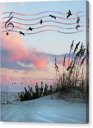 Beach Music Canvas Print