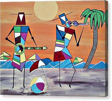 Beach Party Canvas Print