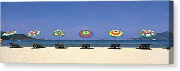 Beach Phuket Thailand Canvas Print by Panoramic Images