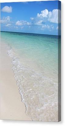 Beach Playa Mujeres Canvas Print