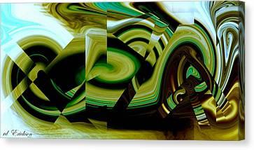 Beach Racer Canvas Print by Roy Erickson