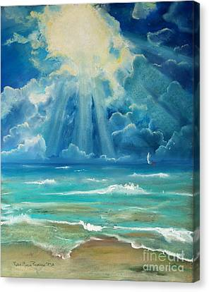 Beach Canvas Print by Robin Maria Pedrero