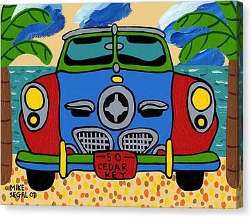 Beach Studebaker Canvas Print
