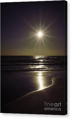 Beach Sun 2 Canvas Print