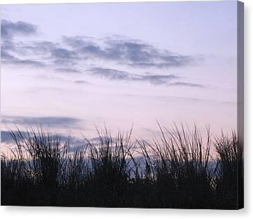 Canvas Print featuring the photograph Beach Sunrise 1 by Melissa Stoudt