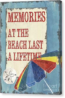 Beach Time 3 Canvas Print