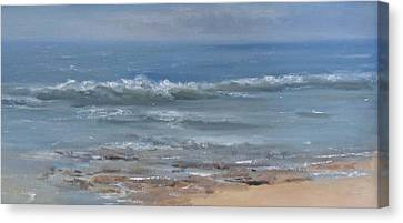 Beach Time Canvas Print by Mar Evers