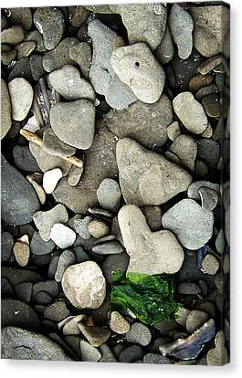 Beach Valentine Canvas Print