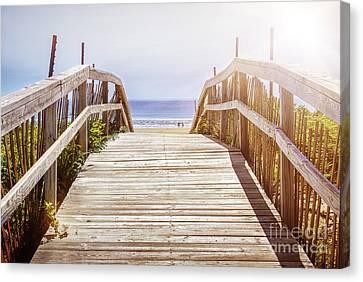 Weekend Canvas Print - Beach View by Elena Elisseeva