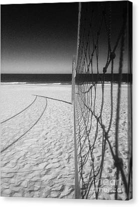 Beach Volleyball Net Canvas Print