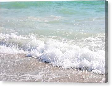 Canvas Print featuring the photograph Surf And Sand by Margie Amberge