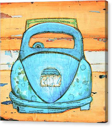 Beachbound Canvas Print by Danny Phillips