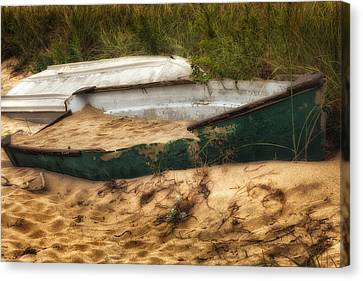 Beached Canvas Print by Bill Wakeley
