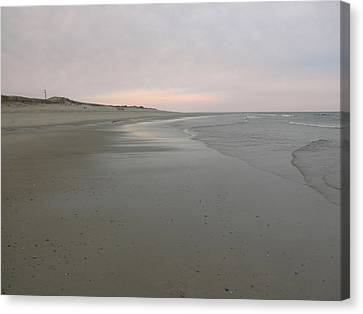 Beachscape Canvas Print by David Klaboe
