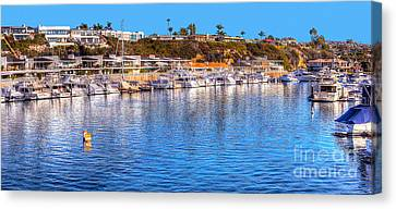 Beacon Bay - South Canvas Print by Jim Carrell