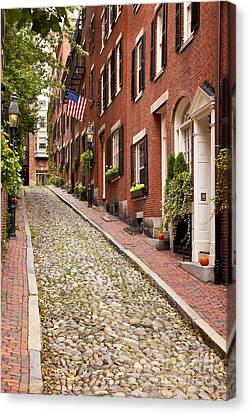 Beacon Hill Canvas Print by Brian Jannsen