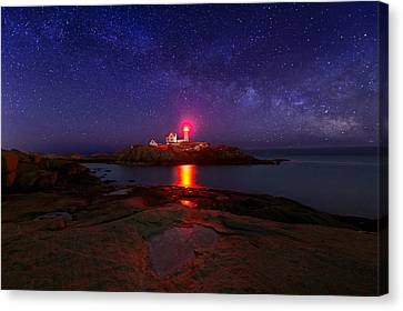 Beacon In The Night Canvas Print