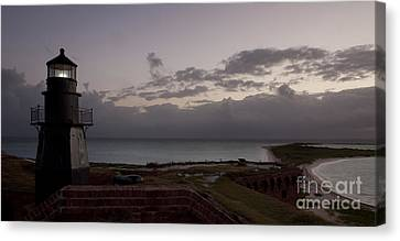 Beacon Of Light Canvas Print by Keith Kapple
