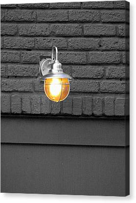 Canvas Print featuring the photograph Beacon by Rodney Lee Williams