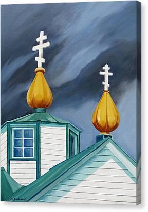 Beacons Canvas Print by Shirley Galbrecht