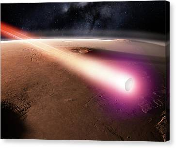 Beagle 2 Over Mars Canvas Print