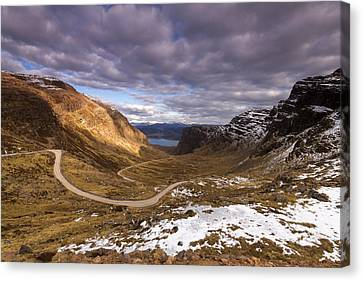 Bealach Na Ba Canvas Print by Karl Normington