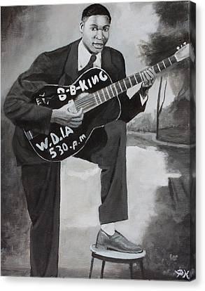 Beale Street Blues Boy Canvas Print by Patrick Kelly