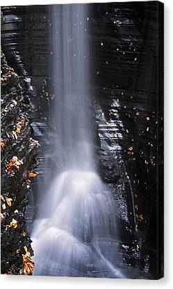 Beam Of Water Canvas Print by Eduard Moldoveanu