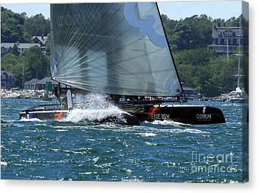 Beam Reach Canvas Print by Butch Lombardi