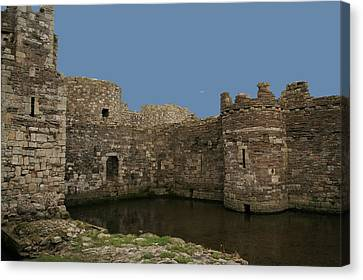 Canvas Print featuring the photograph Beamaris Castle by Christopher Rowlands