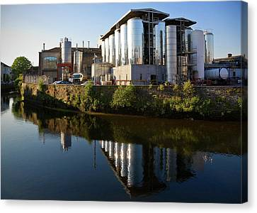 Beamish & Crawford Brewery, River Lee Canvas Print by Panoramic Images
