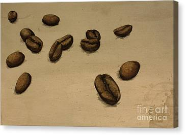 Beans Canvas Print by Nicole Wilcox