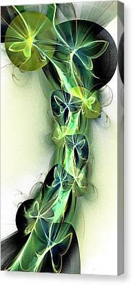 Beanstalk Canvas Print by Anastasiya Malakhova
