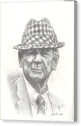 Bear Bryant 3 Canvas Print