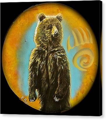 Bear  Canvas Print by Ethan  Foxx