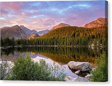 Bear Lake Sunrise Canvas Print by Adam Pender