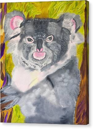 Koala Hug Canvas Print