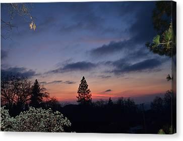 Bear Mountain Peaking Canvas Print