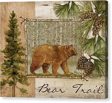 Bear Trail Canvas Print by Paul Brent