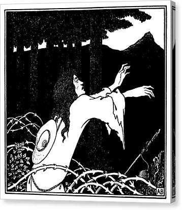 Beardsley Under The Hill Canvas Print by Granger