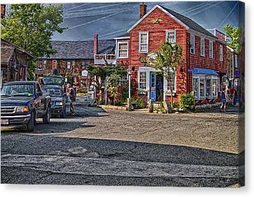 Bearskin Neck Canvas Print