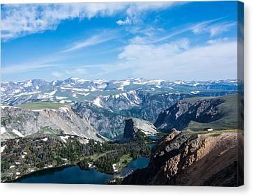 Beartooth Long Range Views Canvas Print